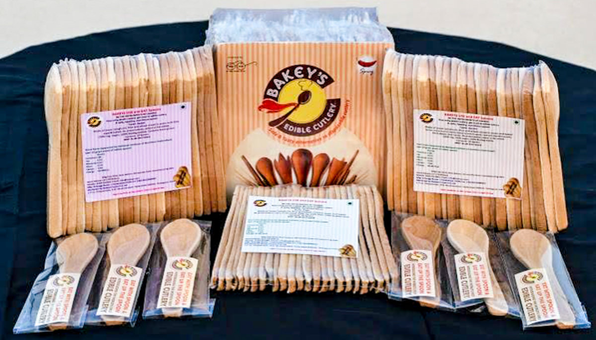 Bakeys Edible Cutlery Smashes Kickstarter Goal Reviewed