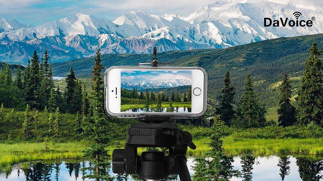 DaVoice phone tripod mount