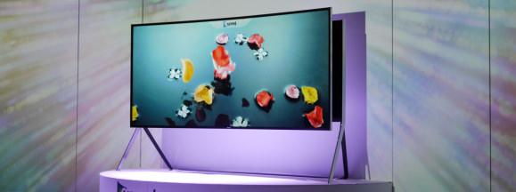 Samsung ifa 2014 bendable tv