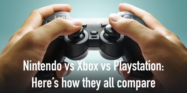 Nintendo Vs Xbox vs PS4