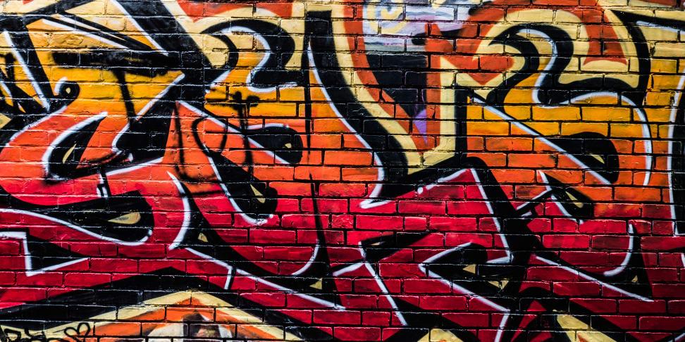 Sample crop graffiti