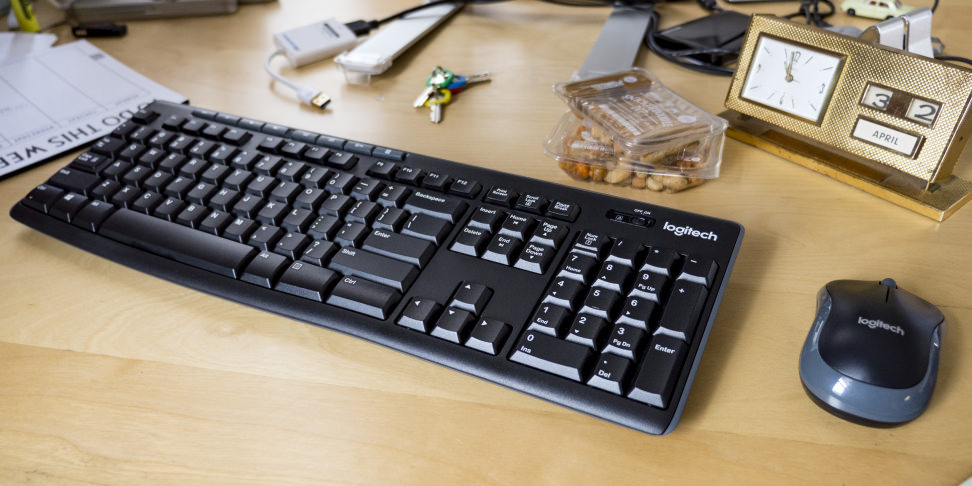 Logitech MK270 mouse and keyboard