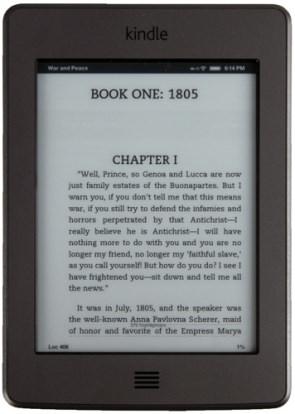 Product Image - Amazon Kindle Touch