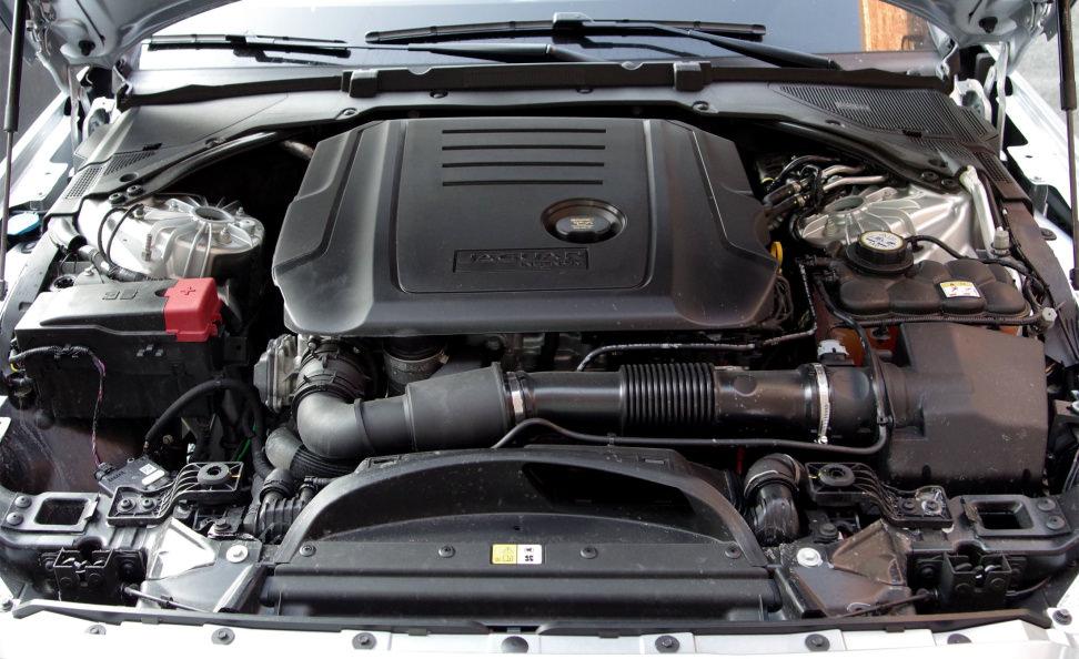 2017 Jaguar XF Diesel Ingenium Engine