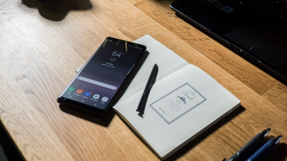 Samsung Galaxy Note 8 Display with S Pen