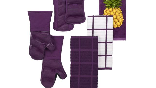 Plum Colored Kitchen Towels