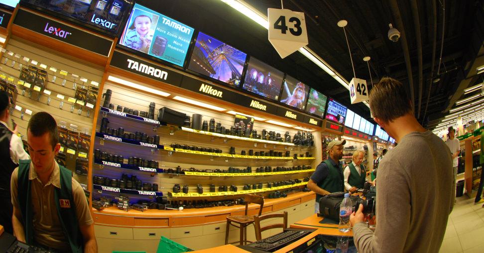 Shopping at B&H Photo