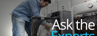Ask experts hero laundry lab new text