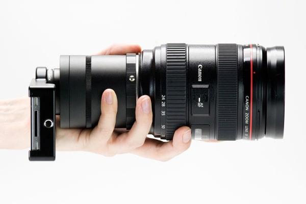 Smartphone Lens Handling