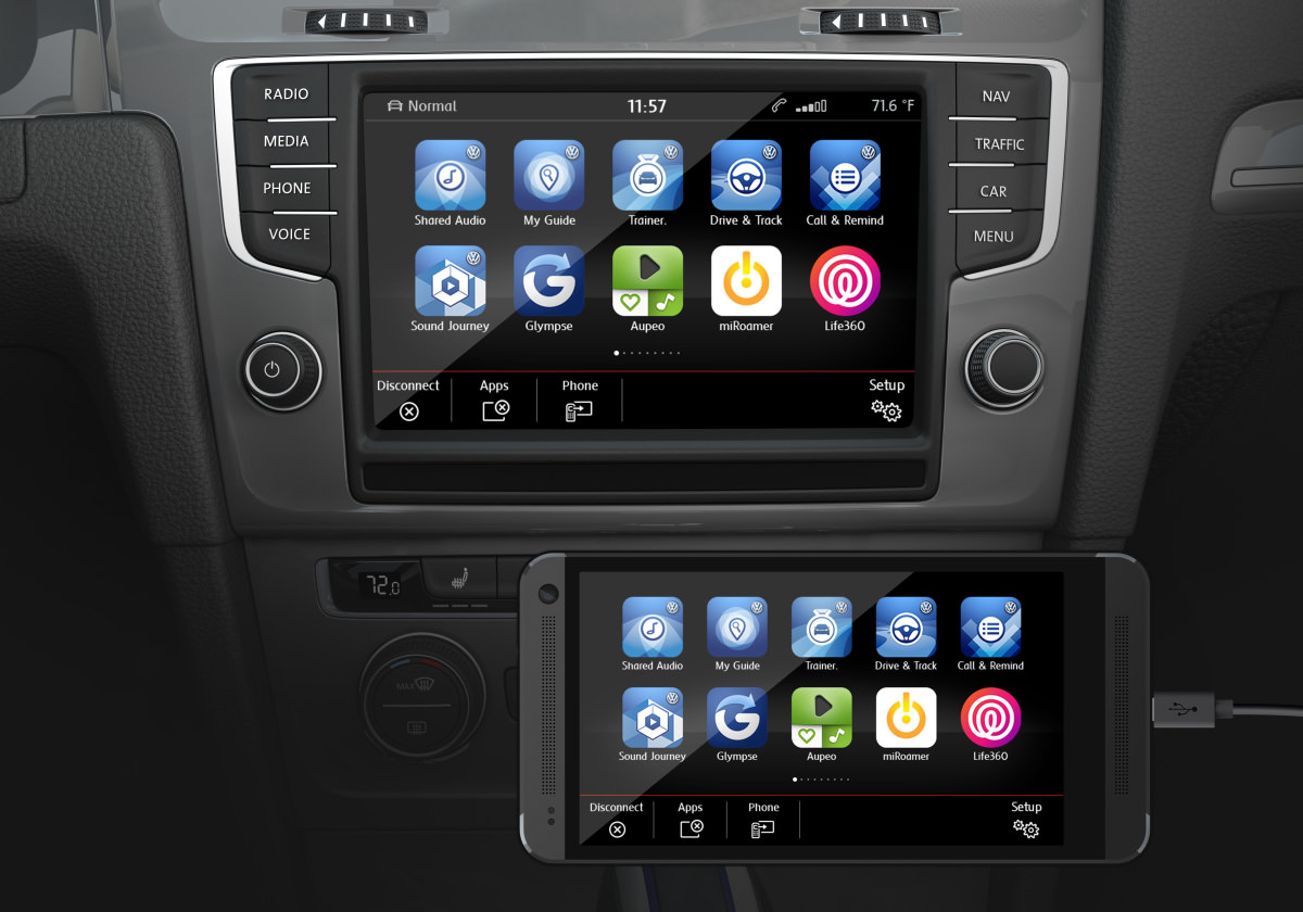 volkswagen mib ii infotainment system first impressions review cars. Black Bedroom Furniture Sets. Home Design Ideas
