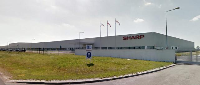 Sharp LCD Factory in Torun, Poland
