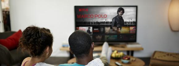 Netflix overtakes networks hero
