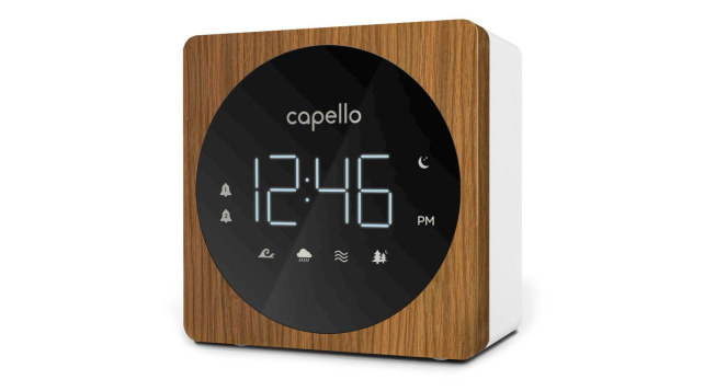 Capello Digital Alarm Clock with Sound Machine