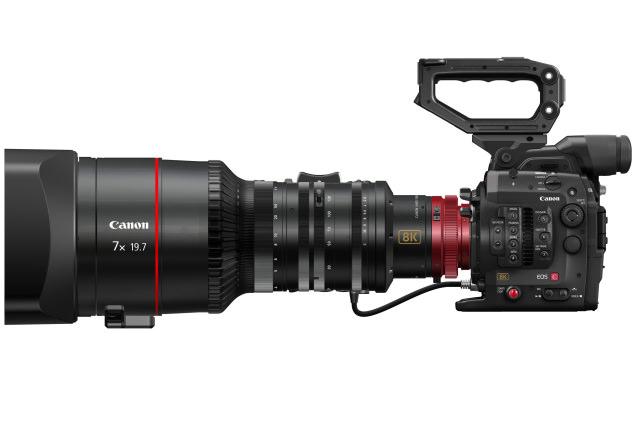8K cinema camera