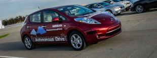 Nissan autonomous vehicle 06