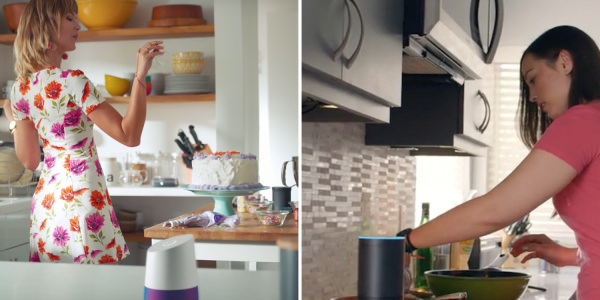 Amazon Echo vs Google Home: who's more helpful in the kitchen?