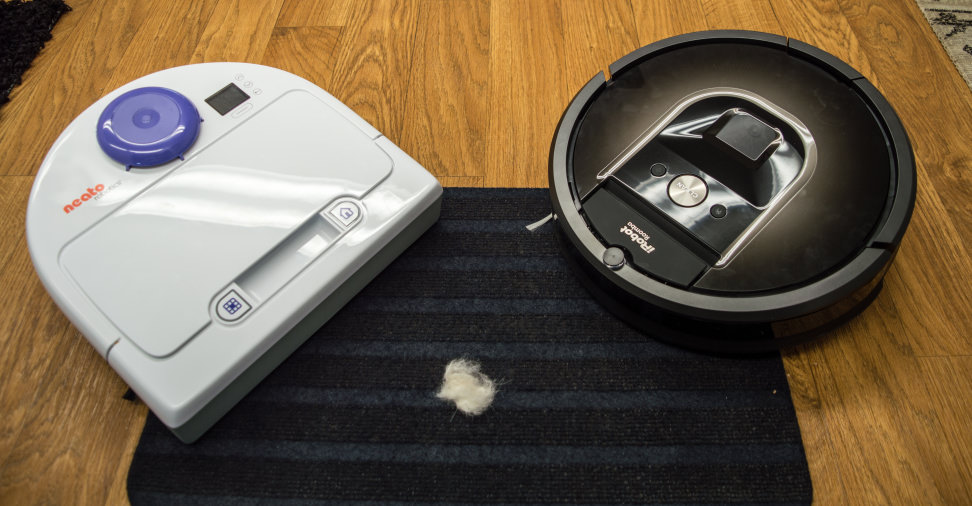Neato Botvac 80 Vs Irobot Roomba 980 Which Robot Vacuum