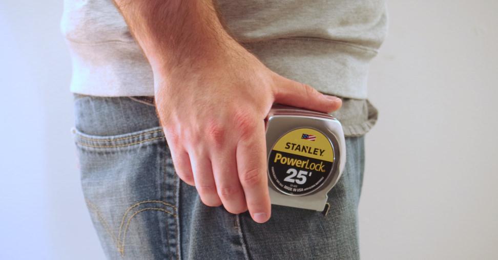 Stanley Powerlock tape measure