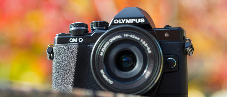 Olympus e m10 mark ii hero