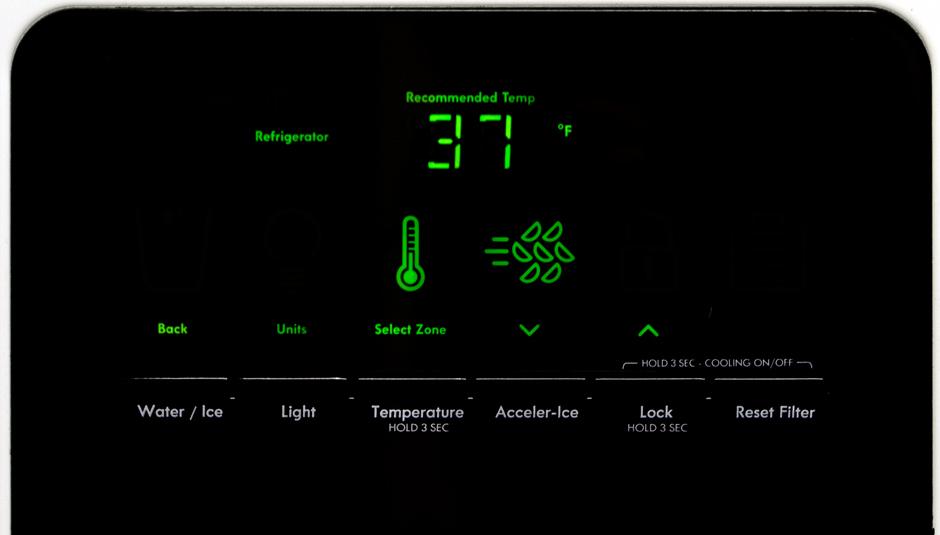 Kenmore 51132 Controls