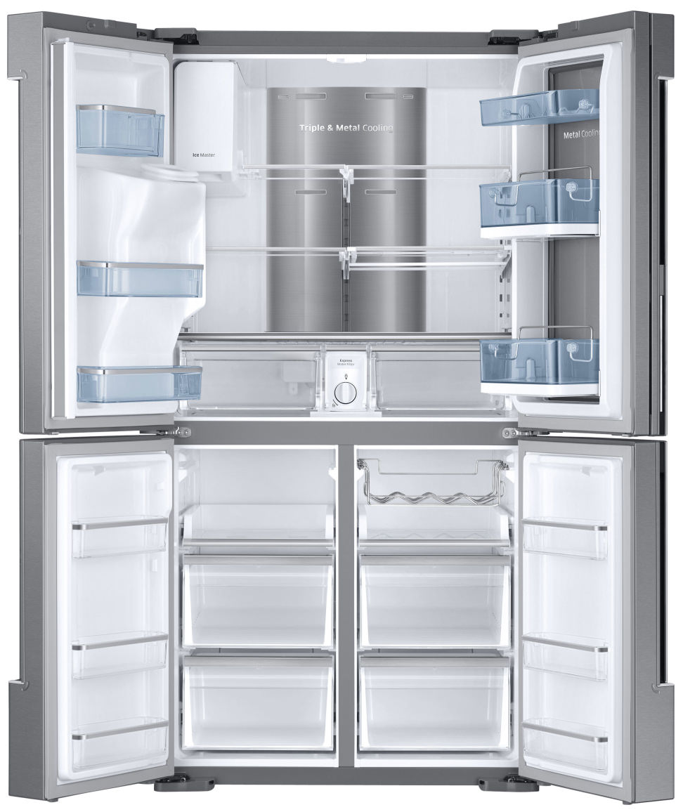 Samsung RF28K Food Showcase Interior