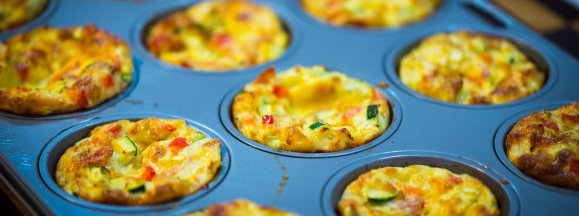 Muffin tin recipes hero