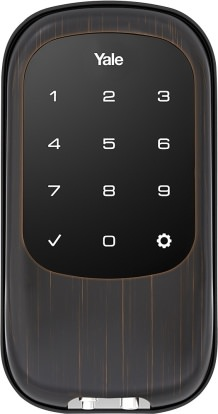 Product Image - Yale Real Living Touchscreen Deadbolt With Z-wave