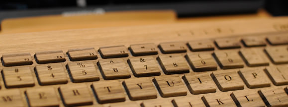 Oree wood keyboard hero