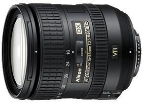Product Image - Nikon AF-S DX Nikkor 16-85mm f/3.5-5.6G ED VR