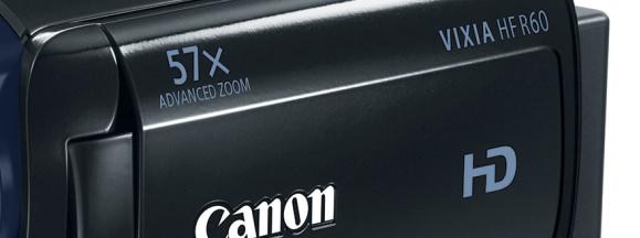 Canon camcorder hero