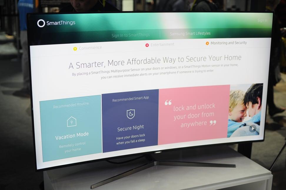 Samsung SmartThings TV Integration