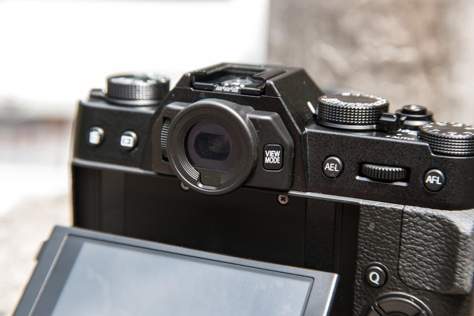 Fujifilm X-T10 EVF