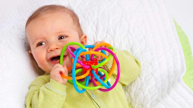 Manhattan Toy Winkel Rattle and Sensory Teether