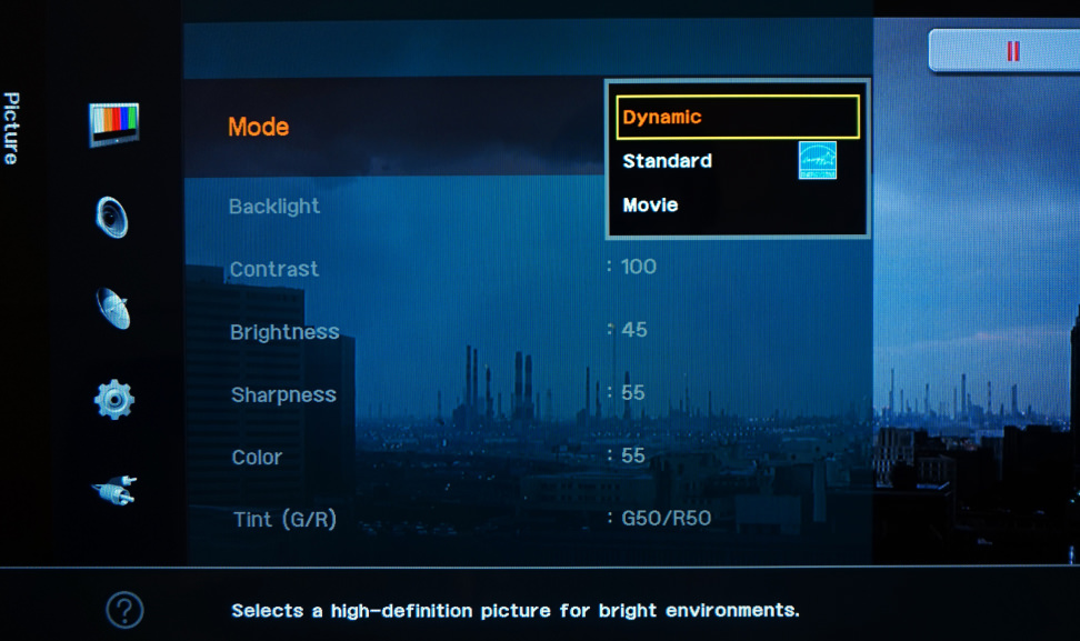TV-Calibration-Picture-Modes