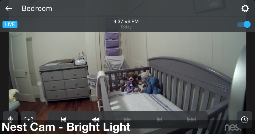 Nest Cam - Bright Light Image Quality
