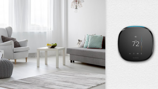ecobee4 smart thermostat