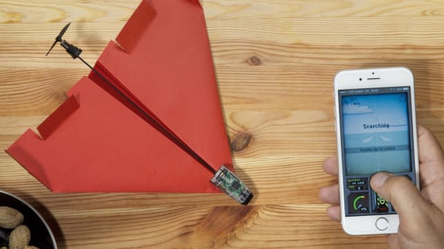 PowerUp Smart Paper Airplane