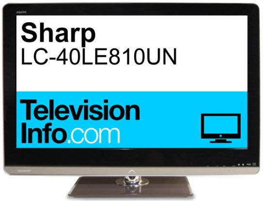 Product Image - Sharp LC-40LE810UN
