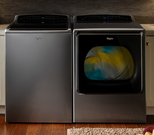 Whirlpool Smart Top Load Washer and Dryer
