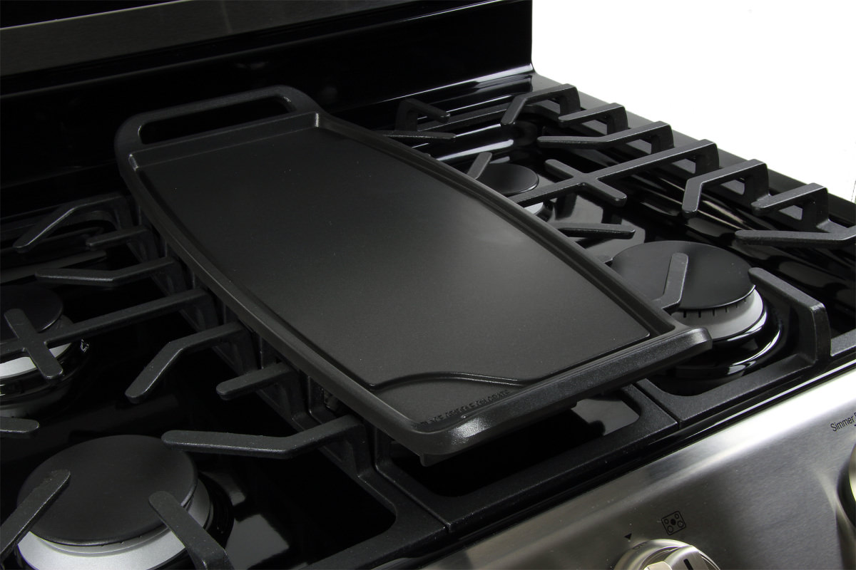 kenmore 95103. the lg lrg4115st comes with an oval griddle, perfect for breakfast. kenmore 95103